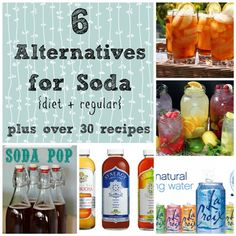 6 healthier alternatives to drinking diet soda