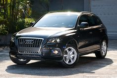 Audi Q5 : Totally overpriced...but I wouldn't say no to driving it if it's in my garage!   p/s Baby seat will look good inside too.