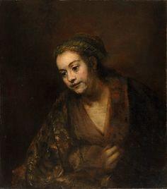 Хендрикье Стоффельс (1626-1663). Харменс ван Рейн Рембрандт