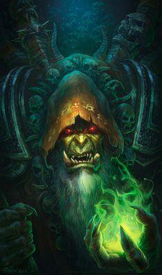 Guldan -World of Warcraft   peterconcept