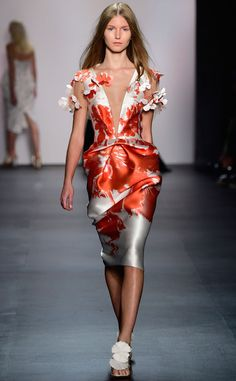 Angel Sanchez, Angel Sanchez from 100 Best Fashion Week Looks from All the Spring 2016 Collections