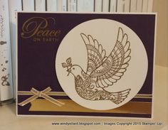Pals Paper Crafting Picks of the Week Dove of Peace Mary Fish Stampin Pretty StampinUp