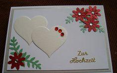 Glückwunschkarte zur Hochzeit von Wollzottel auf DaWanda.com