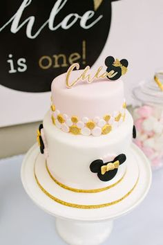 Part 1: Miss C's Pink and Gold Minnie Mouse 1st Birthday Party!