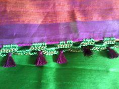 Green saree kuchhu