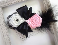 Paris Couture Headband Baby Headband by ButterflyFaithBoutiq, $9.95