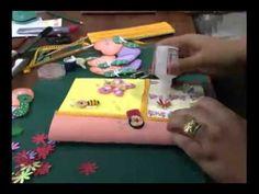 20120530 CUSTOMIZACAO DE CAPA DE CADERNO 2 1 - YouTube