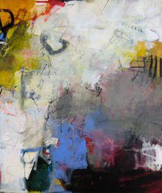 "Image: © Charlotte Foust ""Daydream"" Acrylic on Canvas, 72"" x 60"""