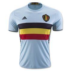 a913bd0e517 Belgium Euro 2016 Authentic Men Away Soccer Jersey