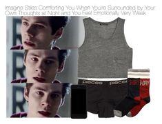 """Imagine Stiles Comforting You When You're Surrounded by Your Own Thoughts at Night and You Feel Emotionally Weak"" by xdr-bieberx ❤ liked on Polyvore featuring MANGO, Pieces, Superdry and Dolce&Gabbana"