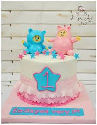 Baby tv billy bambam & cuddlies - cake by Hopechan Toddler Crafts, Crafts For Kids, Crafts Toddlers, Billy Bambam, Baby Tv Cake, Birthday Cake, Birthday Ideas, First Birthdays, Cake Decorating