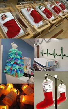 Hospital Christmas Decorations That Show Medical Staff Are The Most Creative People Ever!