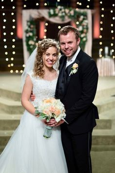 10 Best Duggar Family Wedding Photo Of Groom And Bride Images