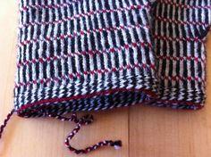 Lappone: twined knitting / tvåändsstickning