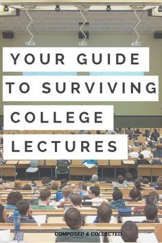 Let's all give a round of applause to the genius who thought three-hour lectures were a good idea.                  My first ever lectur...