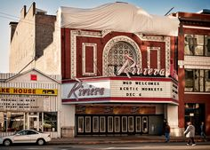 Riviera Theater (1918), 4746 North Racine Avenue, Uptown, Chicago, Illinois, USA by lumierefl, via Flickr