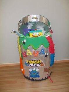 The trash Back Pinata