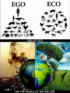 Ego VS Eco. A critical lesson every human should learn, the right side is indeed the RIGHT side.