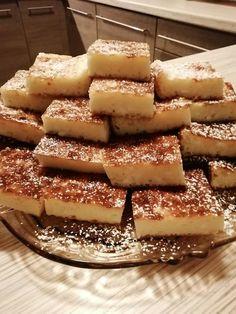 Túrós lepény, nálunk nagy sikere van, ez a recept bámulatos! Apple Pie, Cheesecake, Sweets, Cookies, Baking, Recipes, Food, Crack Crackers, Gummi Candy