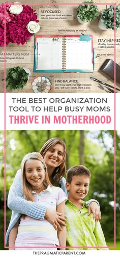 Get organized when you're a busy mom! The best organization tool for busy moms to keep your family organized. #organizedfamily #busymom #howtoorganizeabusyfamily