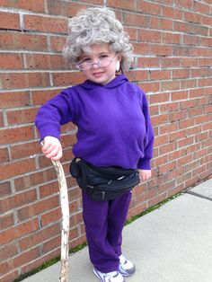 Old lady costume  sc 1 st  Pinterest & Old lady costume for 100 days of school | Crafts By Kandie ...
