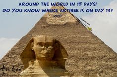 Guess where Artibee is every day, collect the answers and after 16 days you will win a great prize! Inbox me for more details. Feel free to repin! :)