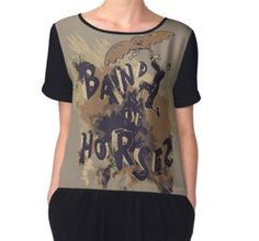 Band of Horses -Band- Caos by CrackBabies - Women's Chiffon Top