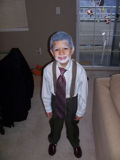 Dress like a 100 year old for the 100th day of school...cute!