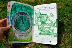 my wreck this journal - this page is a sign :)