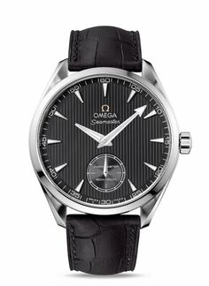 OMEGA Watches: Seamaster Aqua Terra XXL - Small Seconds Hand - Steel on leather strap - 231.13.49.10.06.001