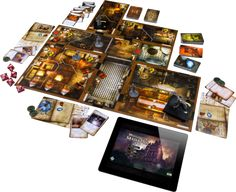 Mansions of Madness: Second Edition  Layout