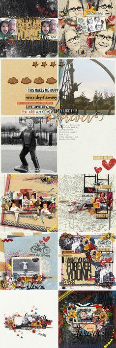 CT INSPIRATION using Forever Young: Bundle by Studio Basic and Amanda Yi