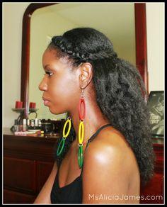 """Natural Hair « Alicia James & """"The Natural Chick Epidemic"""""""