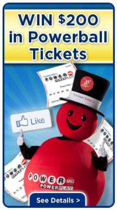 Win 200 Dollars Worth of Powerball Tickets from the Hoosier Lottery.  CLICK the Hoosier Lottery Contest Tab for a Chance to win PB tickets. https://www.facebook.com/hoosierlottery