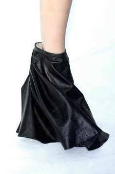 Rick Owens Wedge Boots, S / S 2009 Covered