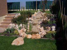 steingarten haus hang ziergräser kies beispiel   gardening, Best garten ideen