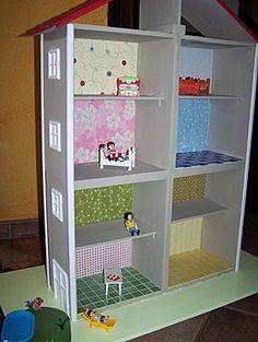 La maison Playmobil maison en caisses de vin : j'adhère ! …