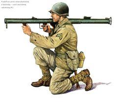 U.S. ARMY - Caporale con Bazooka M1