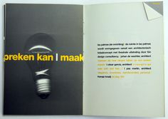 'De Nieuwe soberheid' event design by fündc for Sanders Geluk. Rotterdam, Event Design, Cover, Movie Posters, Las Palmas, Reading, Film Poster, Billboard, Film Posters