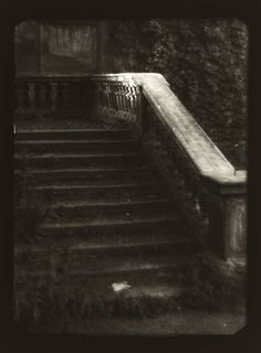 Josef Sudek  The Forgotten Staircase, (from the series, Remembrances), 1950