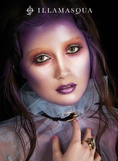 Illamasqua asks Why be normal, when you can be Paranormal? A makeup collection that's not for the faint of heart. Top Makeup Brands, Best Makeup Products, Paranormal, Circus Hair, Beauty Without Cruelty, Beauty Makeup, Hair Makeup, Hair Beauty, Makeup Tips For Brown Eyes