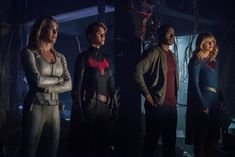 """Check out photos from the """"Crisis on Infinite Earths"""" Arrowverse crossover, kicking off Dec. 8 on 'Supergirl. Cw Crossover, Crossover Episodes, David Harewood, Jon Cryer, Melissa Marie Benoist, Supergirl 2015, Earth Hour, Infinite Earths, Fantasy Tv"""
