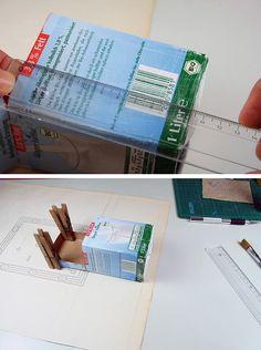 Die Architektin und Bloggerin Katja Deck verrät HANDMADE Kultur Leserinnen, was man aus leeren Tetrapaks machen kann. Grandios! Katja hat zwei Jungs zu Hause, die unglaublich viel Milch trinken. Irgendwann dachte sie, da muss man doch noch etwas draus machen … weiterlesen