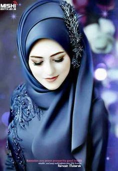 مدل حجاب Muslimah Wedding Dress, Muslim Wedding Dresses, Hijab Bride, Muslim Brides, Dress Muslimah, Beautiful Muslim Women, Beautiful Hijab, Look Fashion, Hijab Fashion