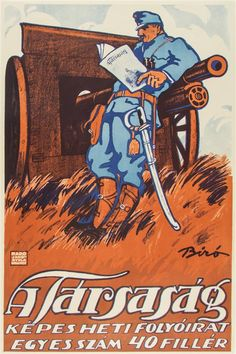 Biro Mihaly The Company journal 1914 Hungarian vintage poster White Highlights, Atypical, Talent Show, Budapest, Bond, Collage Illustration, Commercial Art, Vintage Posters, Retro Posters