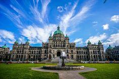 British Columbia Parliament Buildings, Victoria BC Canada