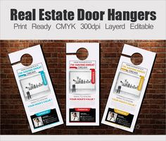 Real Estate Door Hanger Marketing Door Hanger Ideas  Hanger
