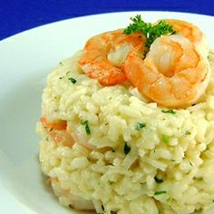 Shrimp Risotto - March Daring Cook's Challenge