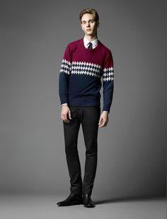 Male Fashion Trends: Burberry Black Label Fall 2013: La versión más relax del look londinense