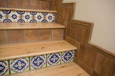 tiles on staircase